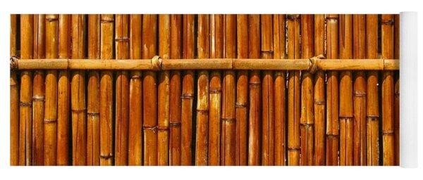 Bamboo Fence Yoga Mat