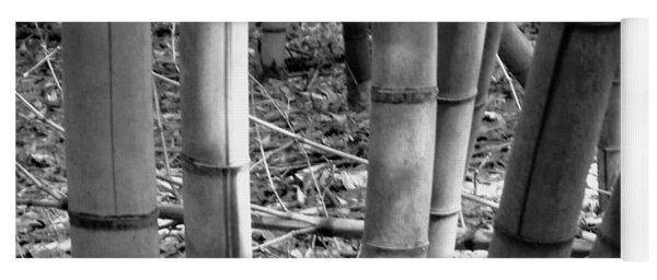 Bamboo In The Shade Yoga Mat