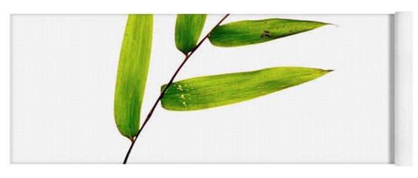 Bamboo Leaves Yoga Mat