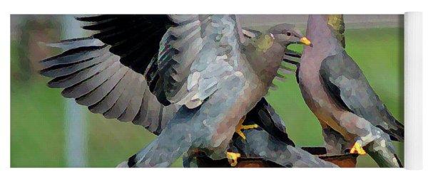 Band-tailed Pigeons #1 Yoga Mat