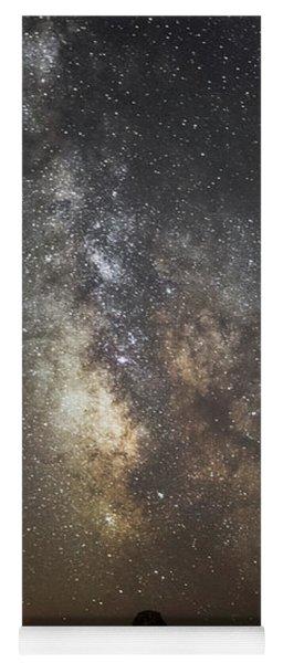 Bandon And Milky Way Yoga Mat
