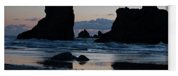 Bandon Oregon Sea Stacks Yoga Mat