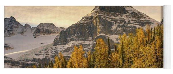 Banff Larch Valley Autumns Serenity Yoga Mat
