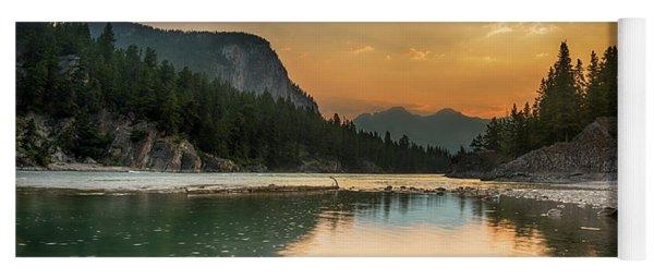 Banff Sunrise Yoga Mat