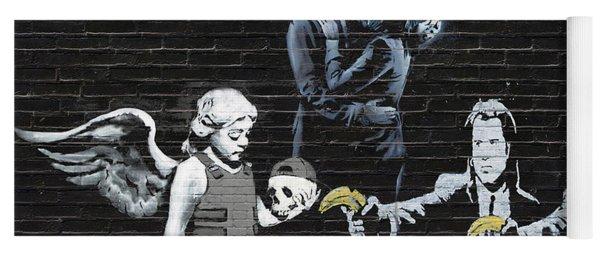 Banksy - Failure To Communicate Yoga Mat