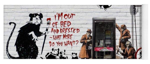 Banksy - The Tribute - Rats Yoga Mat