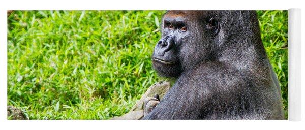 Baraka - Western Lowalnd Silverback Gorilla Yoga Mat