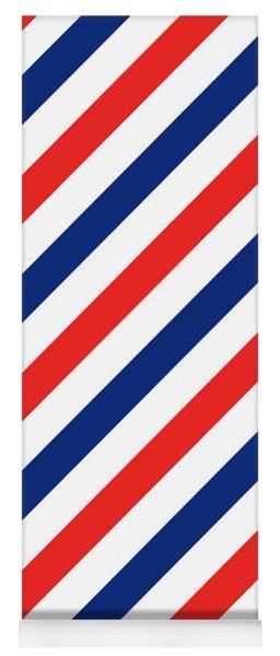 Barber Stripes Yoga Mat