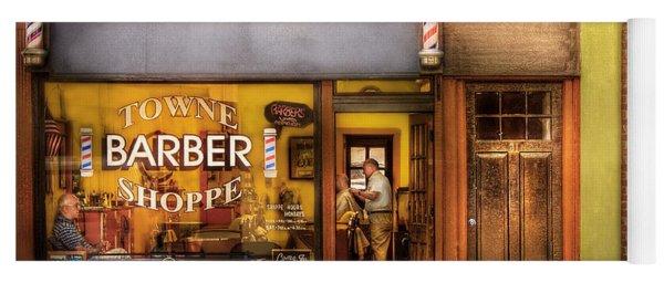 Barber - Towne Barber Shop Yoga Mat