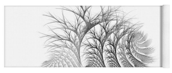 Bare Trees Daylight Yoga Mat