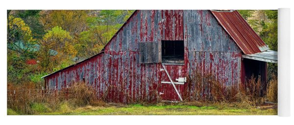 Barn On White Oak Road 2 Yoga Mat