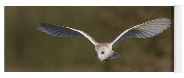 Barn Owl Quartering Yoga Mat