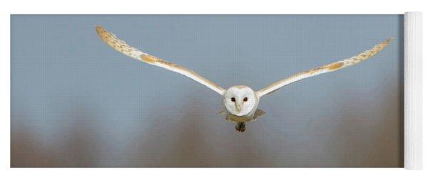 Barn Owl Sculthorpe Moor Yoga Mat