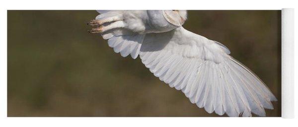 Barn Owl Wings Yoga Mat