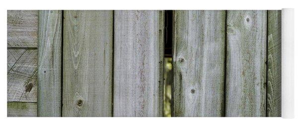 Barn Window, In Color Yoga Mat