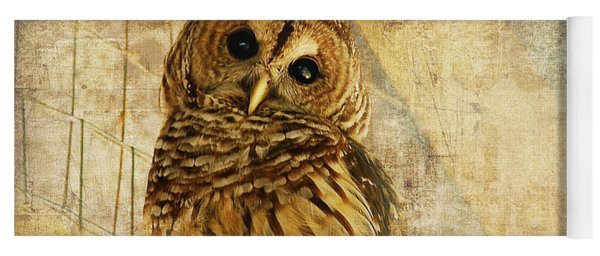 Barred Owl Yoga Mat