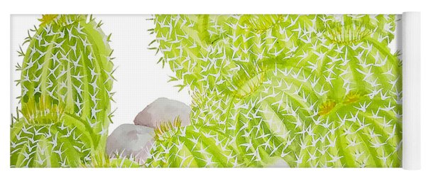 Barrel Cactus Yoga Mat