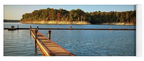Barren River Lake Dock Yoga Mat