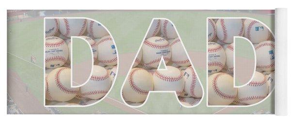 Baseball Dad Yoga Mat
