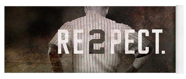 Baseball - Derek Jeter Yoga Mat