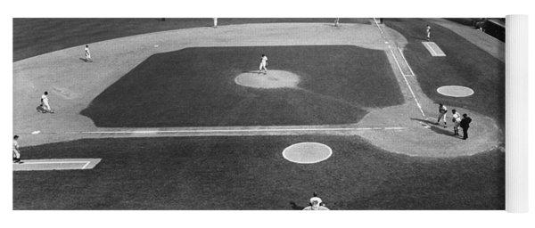Baseball Game, 1967 Yoga Mat