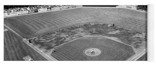 Baseball Game, C1953 Yoga Mat