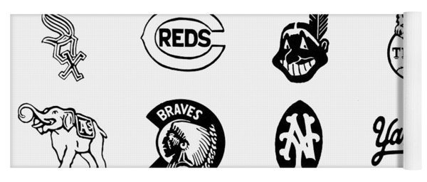 Baseball Logos Yoga Mat