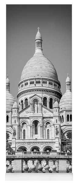 Basilica Of The Sacred Heart In Montmartre Yoga Mat