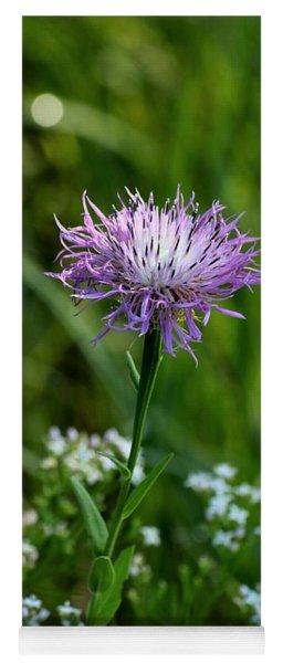 Basket Flower Beauty Yoga Mat