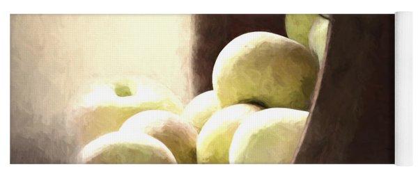 Basket Of Apples Yoga Mat