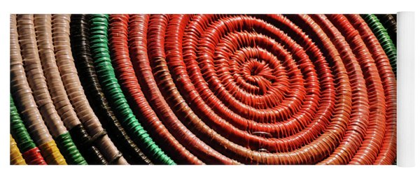 Basketry Color Yoga Mat