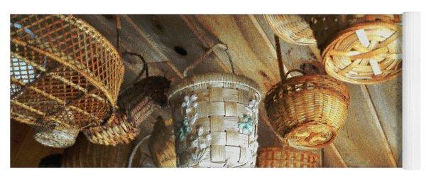 Baskets Up High Yoga Mat