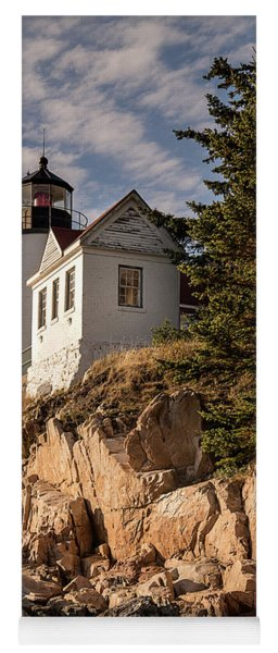 Bass Harbor Lighthouse Yoga Mat