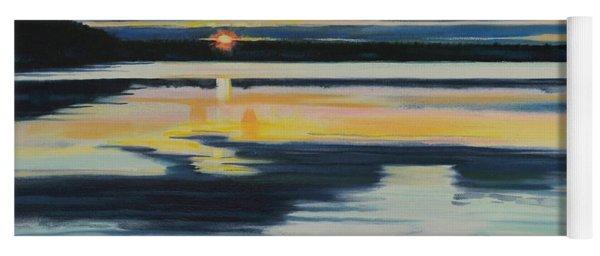 Bass Lake Sunset Yoga Mat