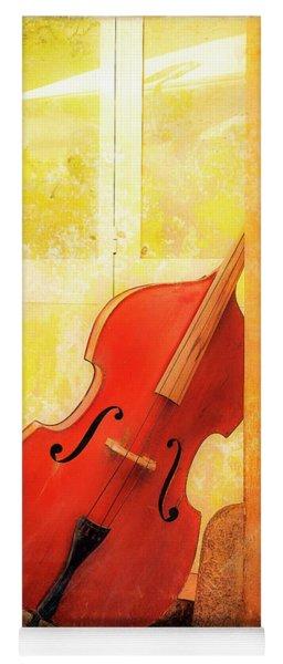 Bass Violin Yoga Mat