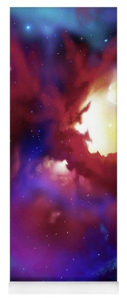 Bat Nebula Yoga Mat
