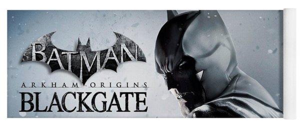 Batman Arkham Origins Blackgate Yoga Mat