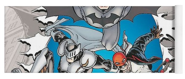 Batman Incorporated Yoga Mat