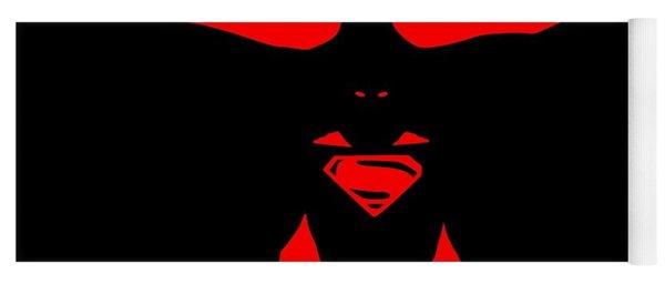 Batman/superman Yoga Mat