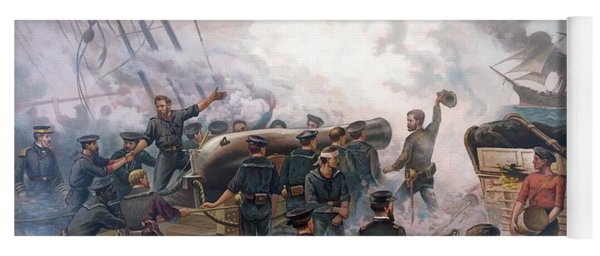 Battle Of Cherbourg Yoga Mat