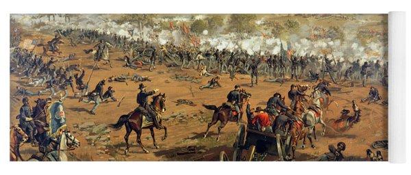 Battle Of Gettysburg Yoga Mat