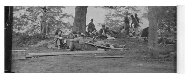 battle of Spotsylvania Yoga Mat