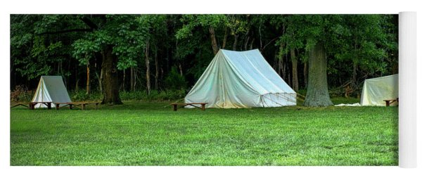 Battlefield Camp Yoga Mat