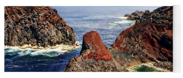 Bay Of Ponta Da Barca Yoga Mat