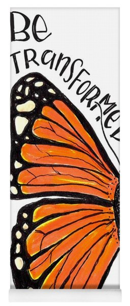 Be Transformed Yoga Mat