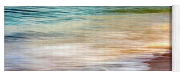 Beach Abstract Yoga Mat