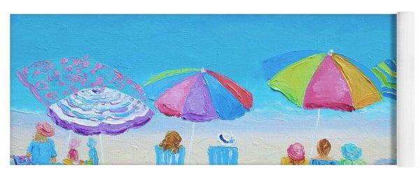 Beach Art - A Golden Day Yoga Mat