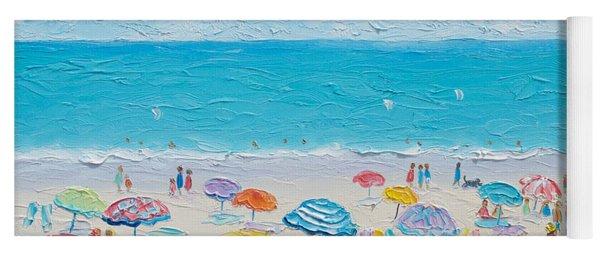 Beach Art - Fun In The Sun Yoga Mat
