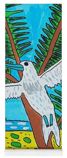 Beach Bird Yoga Mat