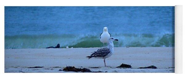 Beach Birds Yoga Mat